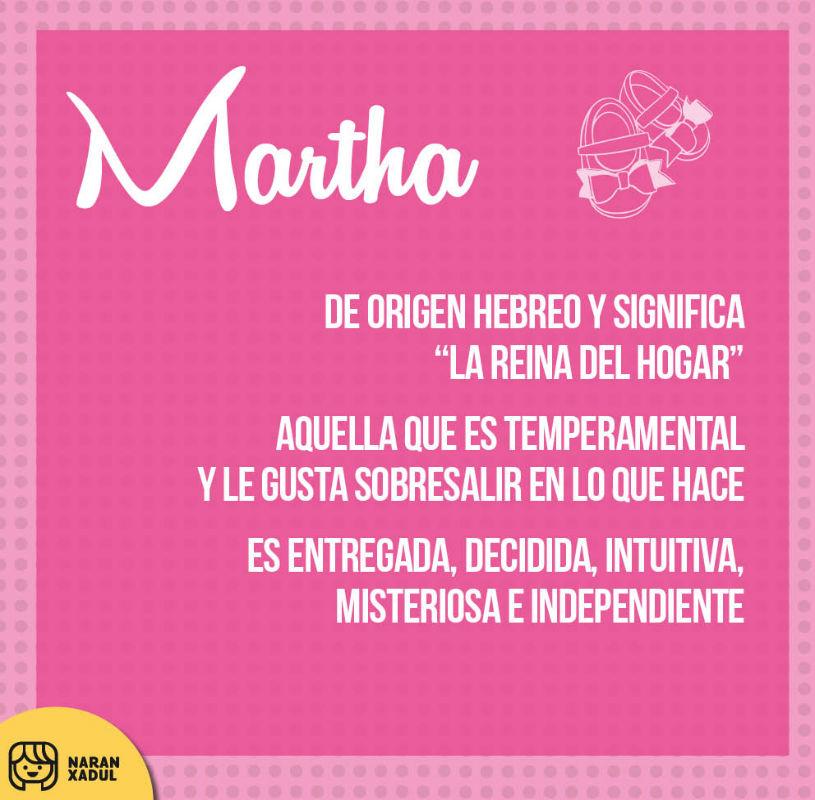 Martha Naranxadul