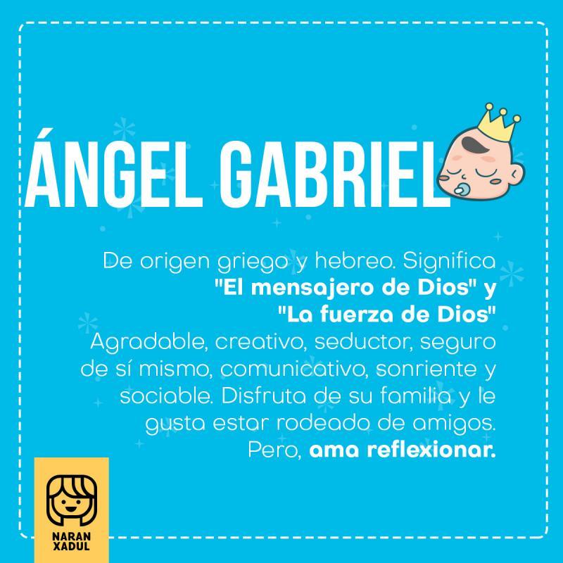ángel Gabriel Naranxadul