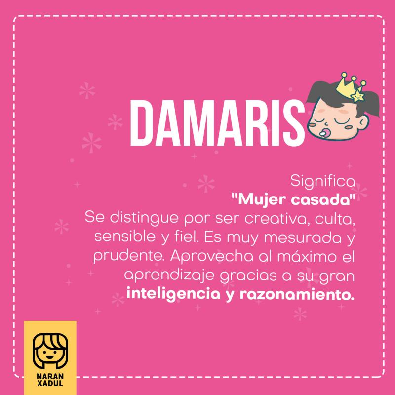 Significado de Damaris