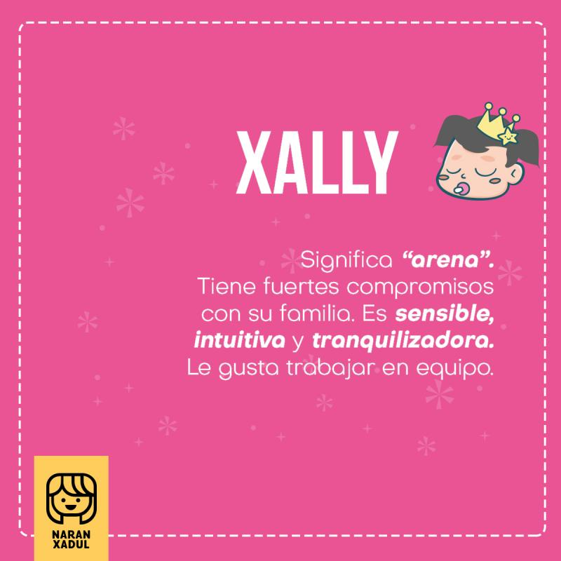 Xally, significado de Xally
