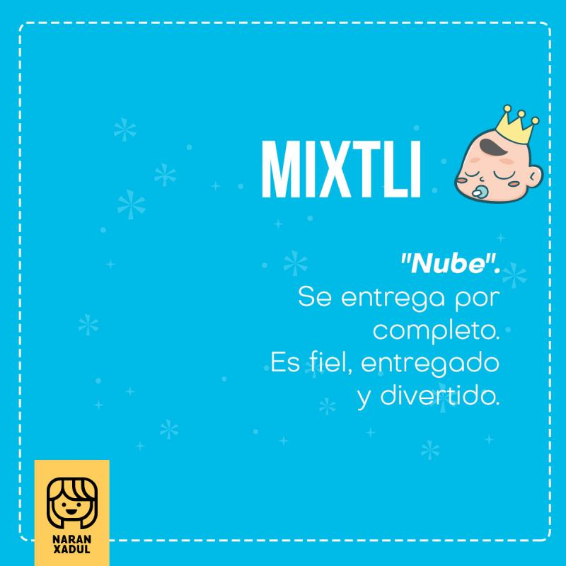 mixtli, significado de mixtli