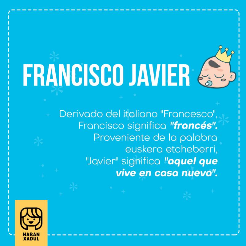 Francisco Javier, significado de Francisco Javier