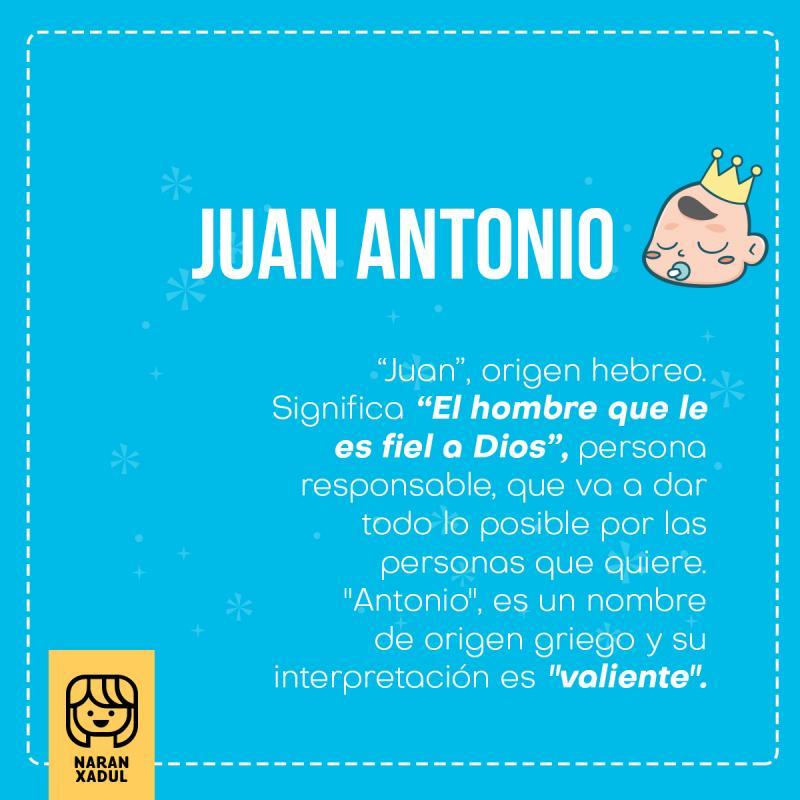 Significado Del Nombre Juan Antonio