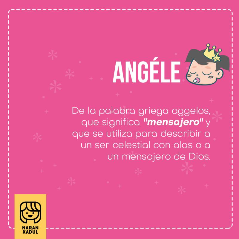 Angele, signficado de Angele
