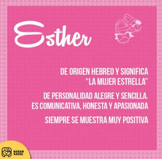significado de esther