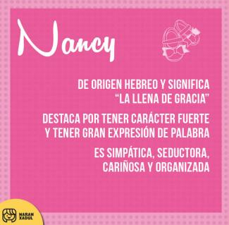 significado de nancy