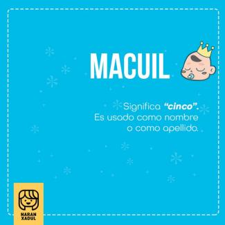 macuil, signficado de macuil
